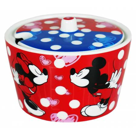 Sucrier Minnie/Mickey Mouse 9 cm