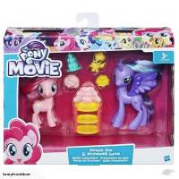 My Little Pony - Lot de 2 Poneys Préparation du Gala - Pinkie Pie et Princess Luna