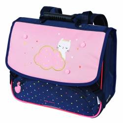 Cartable Chaton Nuage Oberthur 38 cm