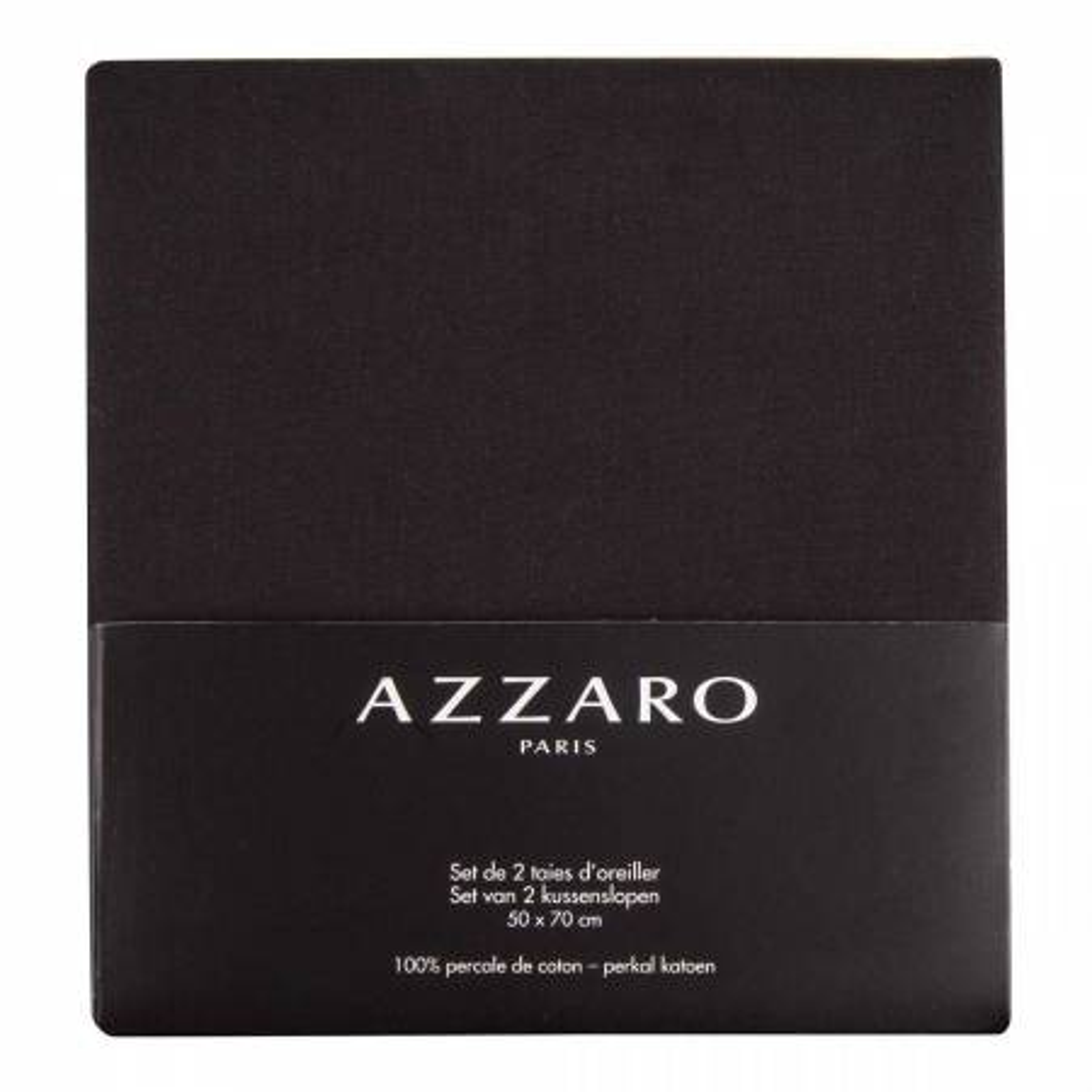 Azzaro Drap Plat 2 personnes 240 x 300 cm - 100% coton Percale