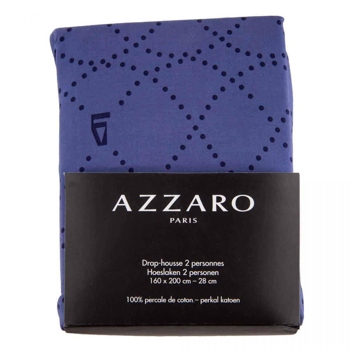 Azzaro Drap Housse 2 personnes 100% coton