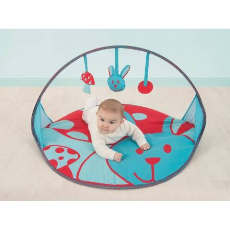 Ludi - 2889 - Tapis d'Éveil Pop-up - Lapin