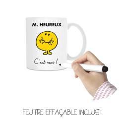 Grand Mug à Personnaliser Monsieur Madame