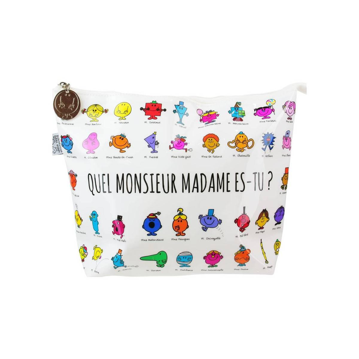 """Trousse de toilette Monsieur Madame """"Ma p'tite trousse"""""""