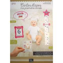 Cartes Souvenirs Bébé - Ma Première Année