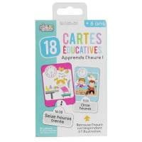 Educational Card I'm Learning Time -24 pieces