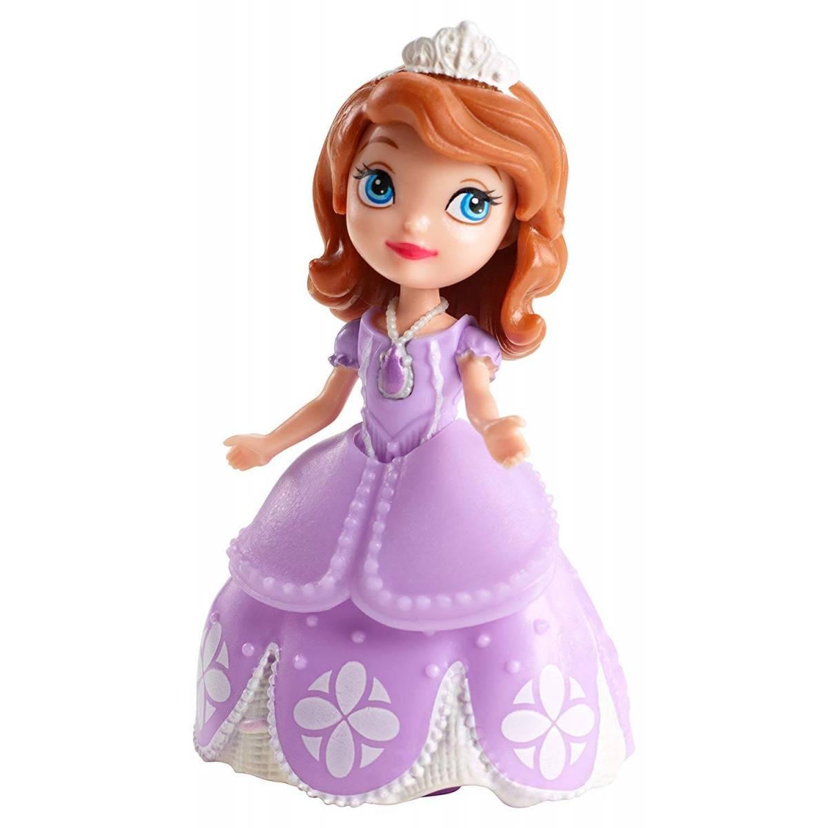 Disney - Mini-Poupée Princesse Sofia - 9 cm