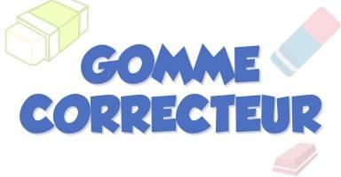 Erasers and correctors