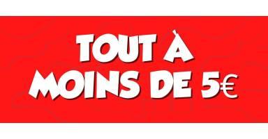Moins de 5 EUROS