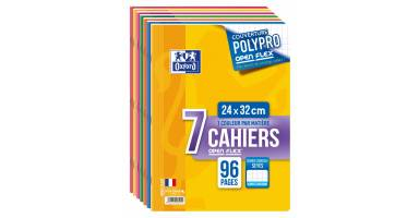 Cahiers 24 x 32 cm