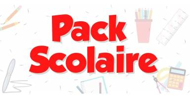 PACKS SCOLAIRE